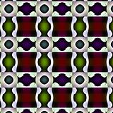 Fanciful pattern or bizarre design.