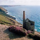 Tin mine on cornish coast