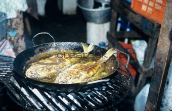 Fish frying