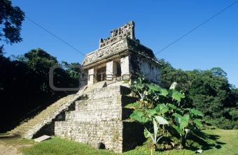 Temple of the sun palenque