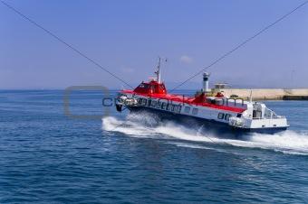 Hispeed boat
