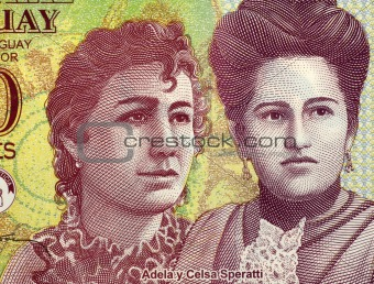 Adela and Celsa Speratti