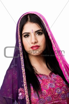 Beautiful Indian Hindu woman