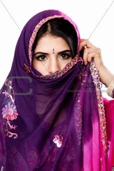 Beautiful Indian Hindu woman