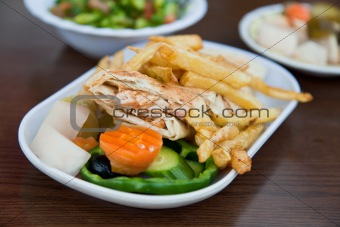 arabic chicken shawarma