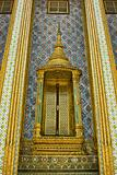 Ancient Golden Door of Thai temple , Bangkok, Thailand