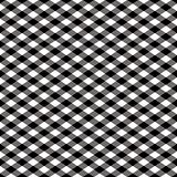 Gingham Pattern in Black