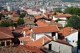 Roofs of old Ankara, capital of Turkey