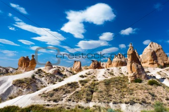 Camel rock, Cappadocia, Turkey 