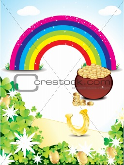 abstract st patricks rainbow backrgound.jpg