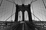 Brooklyn Bridge, Black and White