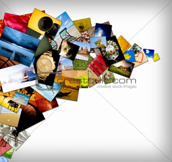 Abstract photography background
