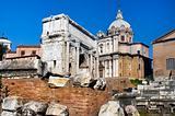 the Forum Romano