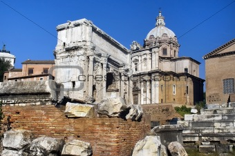 the Forum Romano