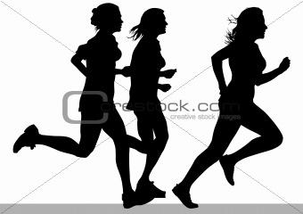 Womens runniug