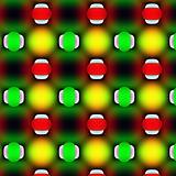 Ovals over blur texture.