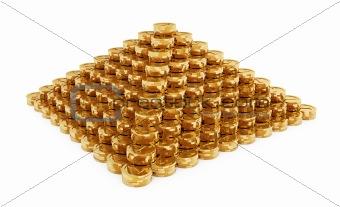 Coins Pyramid