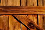 Wooden Gate Closeup