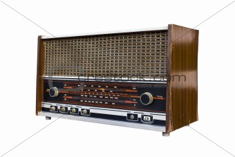 Old radio isolated1