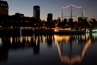 Old harbor, Buenos Aires
