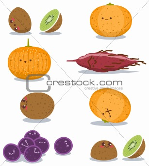 Funny Fruits Fun Pack