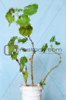 abstract background with textured geranium