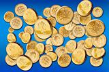 One pound coins