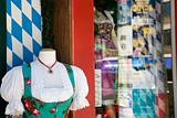A shop selling german national dress