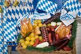Bavarian picnic basket