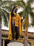 Honolulu Hawaii King Kamehameha Statue