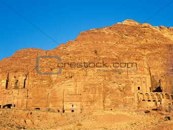 Royal tombs petra