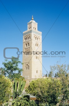 Minaret of koutoubia mosque