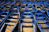 Fishing boats essaouira morocco