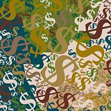 Dollar a background