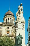 Monument in alicante