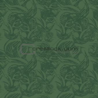 Green seamless background