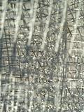 wire mesh blur