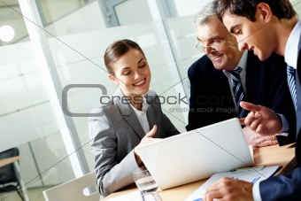 Consulting in office