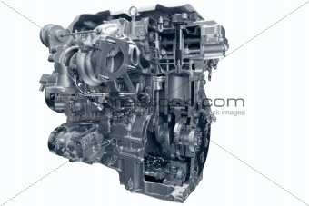 Car gas engine.