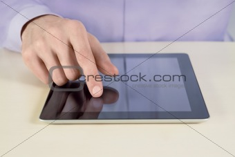 Touching on Tablet PC