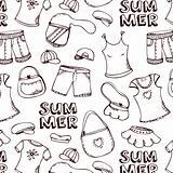 Summer beach pattern