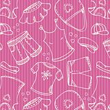 Fashion shopping pink pattern