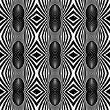 Seamless fancy pattern with zebra motif.