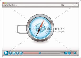 Web video browser navigation
