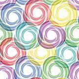 Seamless vivid swirl pattern