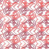 Seamless ornament love pattern