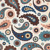 Paisley seamless pattern