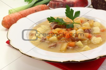 fresh Turnip stew