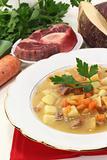 cooked Turnip stew