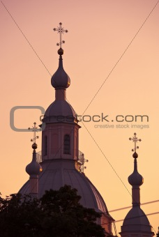 Cathedral's steeples